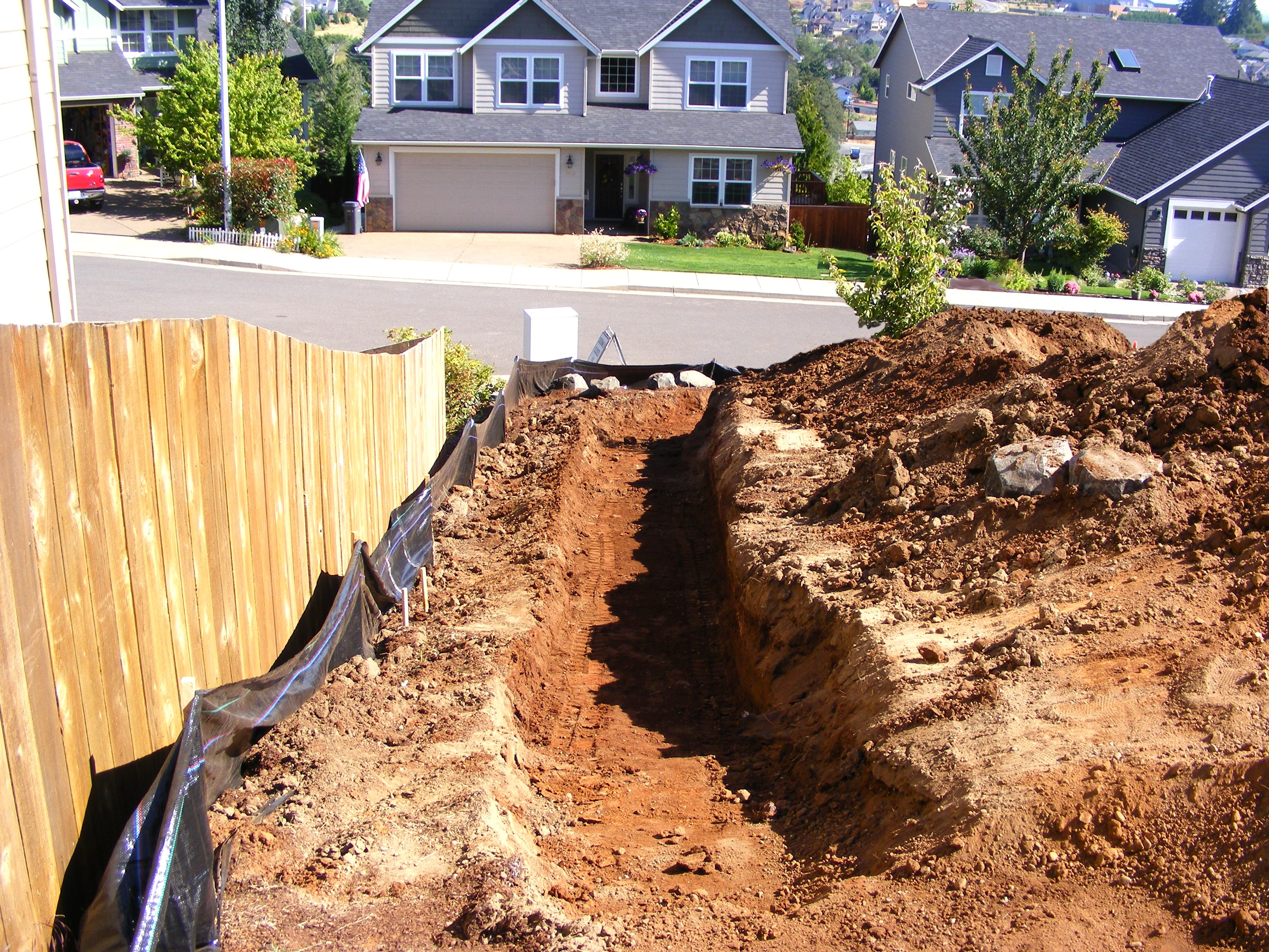 Micro Excavation inc  > Projects